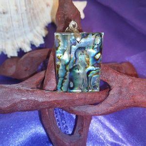 Jewelry - abalone shell pendant. New